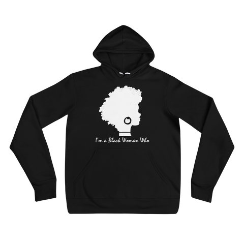 Signature I'm a Black Woman Who Hoodie