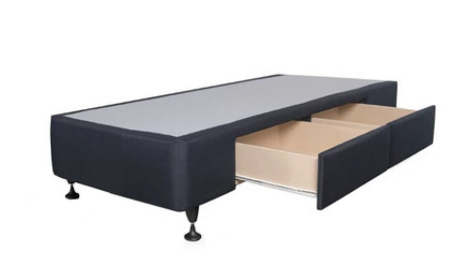 Standard Base with 2 Drawers Single