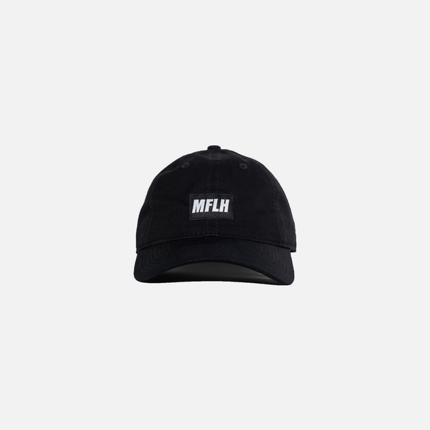 The Bold Box Logo Dad Cap // Black