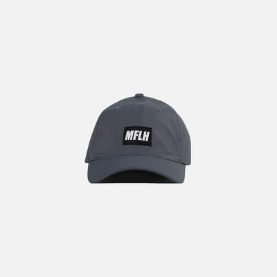 The Bold Box Logo Dad Cap // Performance Grey