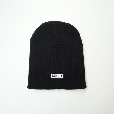 Brick Beanie // Black - White