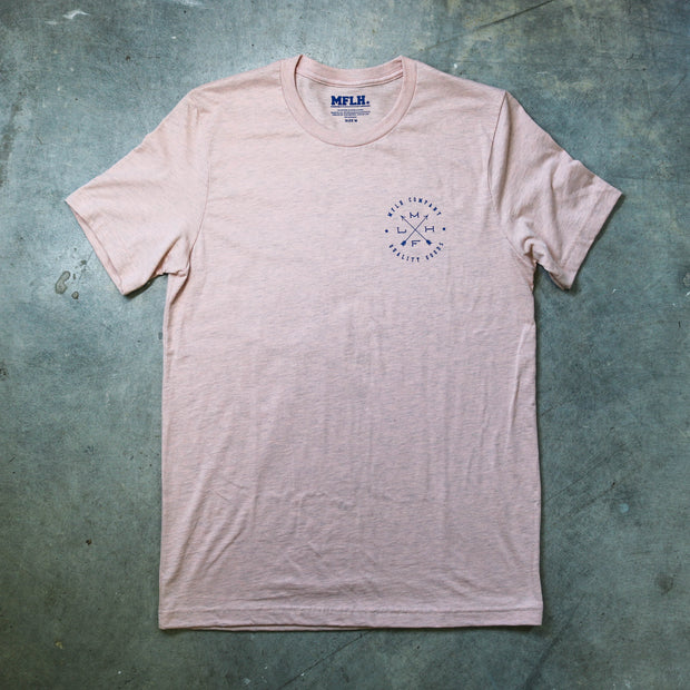 Quality Goods Mens T Faded Peach