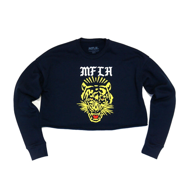 Tiger Crop Sweatshirt