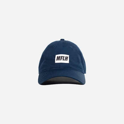 The Bold Box Logo Dad Cap // Navy
