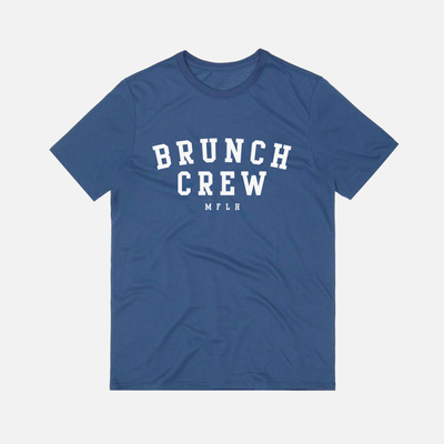 The Brunch Crew Tee // Navy
