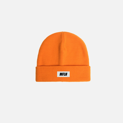 MFLH Beanie // Safety Orange