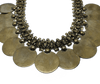 Classic Gold Plated Necklace with Earrings