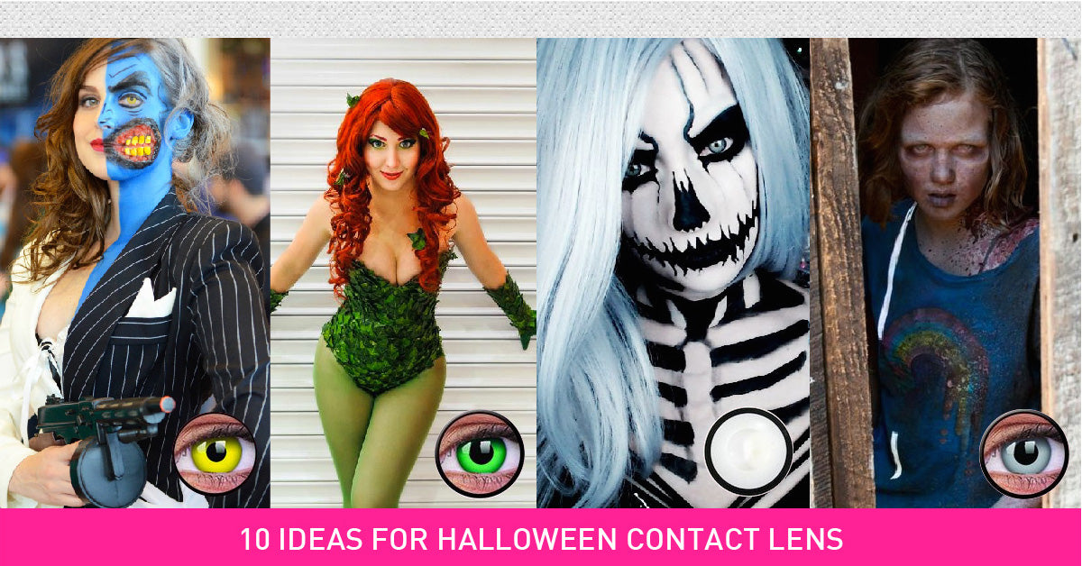 10 Halloween Contact Lenses Ideas You Should Have