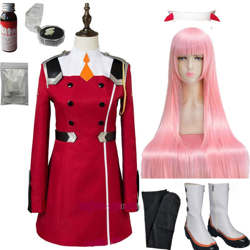 Darling in the Franxx 02 Cosplay Costume Cosplay Women