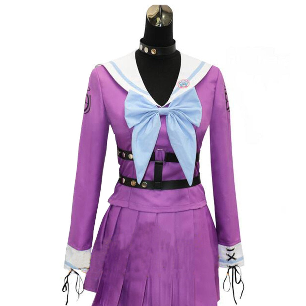 Iruma Miu Rabbit New Danganronpa V3 Cosplay Costume Game Sailor Uniform Suit