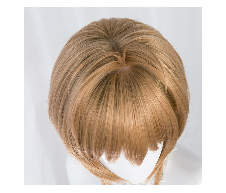 Card Captor Sakura CLEAR CARD KINOMOTO SAKURA Brown Wig