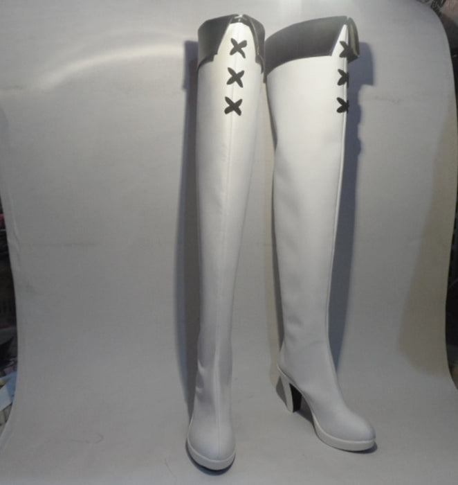 Akame ga KILL Esdeath Cosplay Boots Esdese Shoes