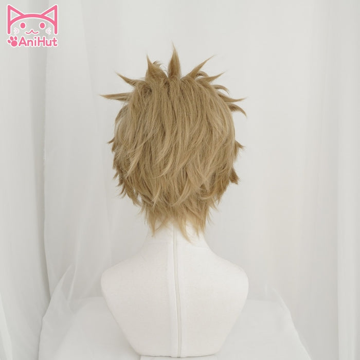 Hawks My Hero Academia No.2 Boku No Hero Academia Short Wig Brown