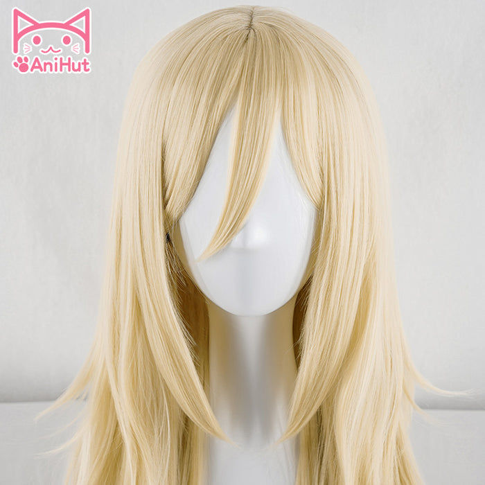 Rachel Gardner Angels of Death 90 CM Long Wig Blonde Ray