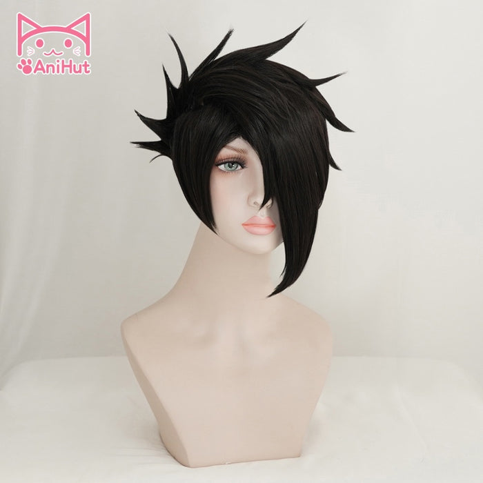 Ray Wig Yakusoku no Neverland Black Short Wig 81194 The Promised Neverland
