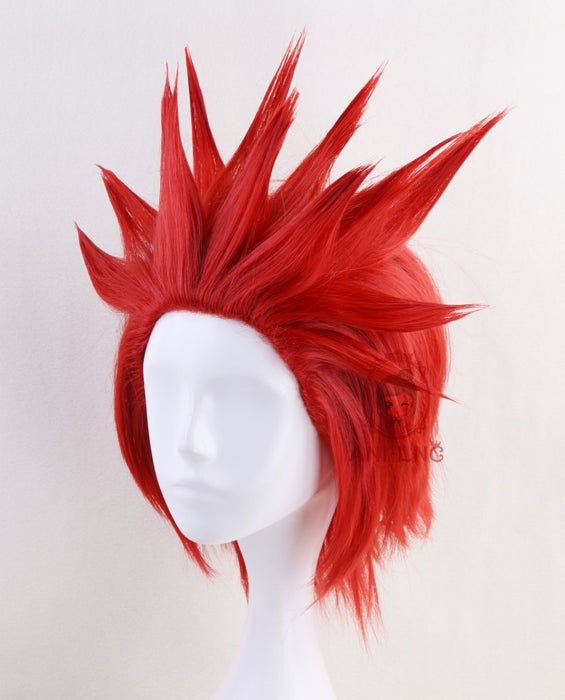 My Hero Academic Kirishima Eijirou Short Wig Red Synthetic Hair Cosplay Wigs For Men