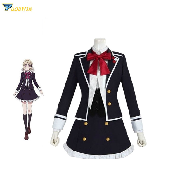 Yui Komori DIABOLIK LOVERS School Uniform