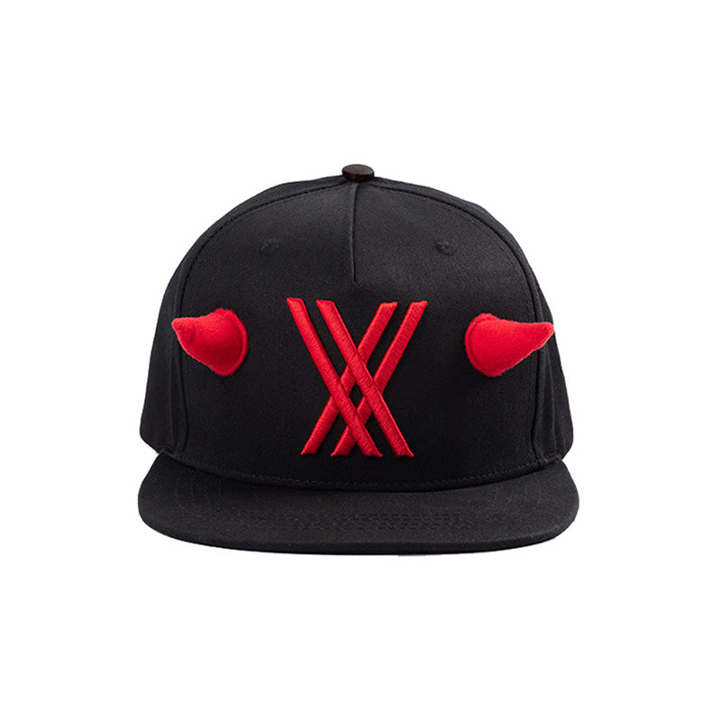 Darling in the Franxx Zero Two Flat Sun Shade Adjustable Baseball Caps Party Props Snapback Hats