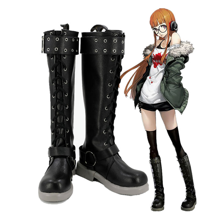 Futaba Sakura Persona 5 Cosplay Boots Custom Made