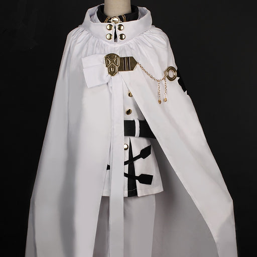 Mikaela Hyakuya Seraph Of The End Owari no Seraph Uniforms Cosplay Costume with Wig Full Set
