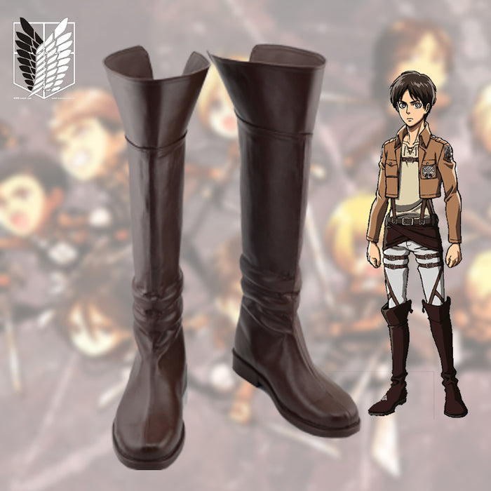 Shingeki no Kyojin Shoes Attack on Titan Cosplay Boots
