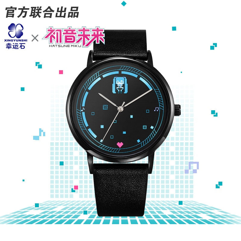 Anitoy Hatsune Miku Cosplay Figure Model Female Watches Toy Collection Role Vocaloid