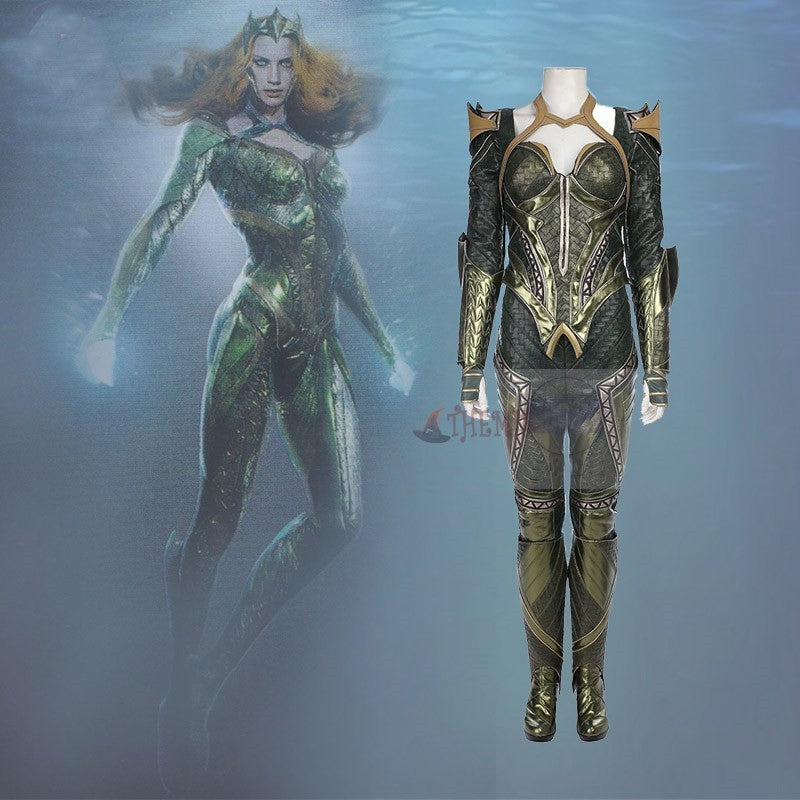 Justice League Mera Suit Cosplay Costume