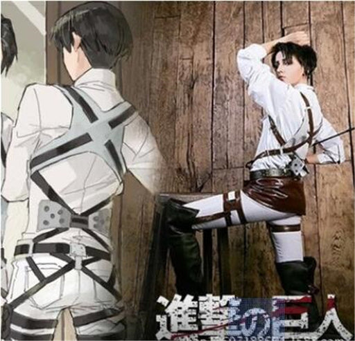 Attack on Titan Shingeki no Kyojin Recon Corps Harness belt hookshot Costume Adjustable Belts cosplay belts  A447
