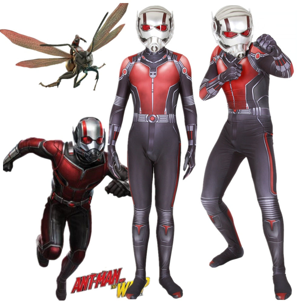 Avengers Ant-Man Costume Zentai Jumpsuits