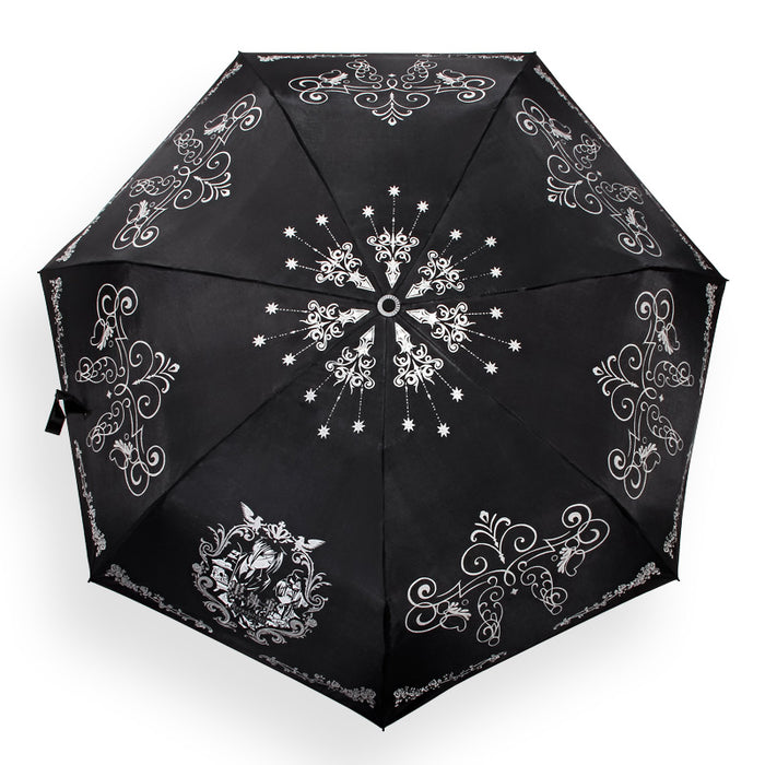 Black Butler Sebastian Michaelis Safety Reflected Light Pencil Umbrella