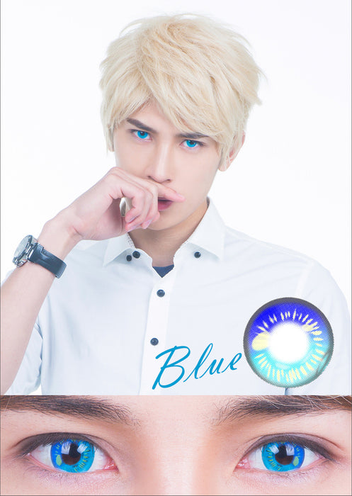 Coscon Anime Blue Lens