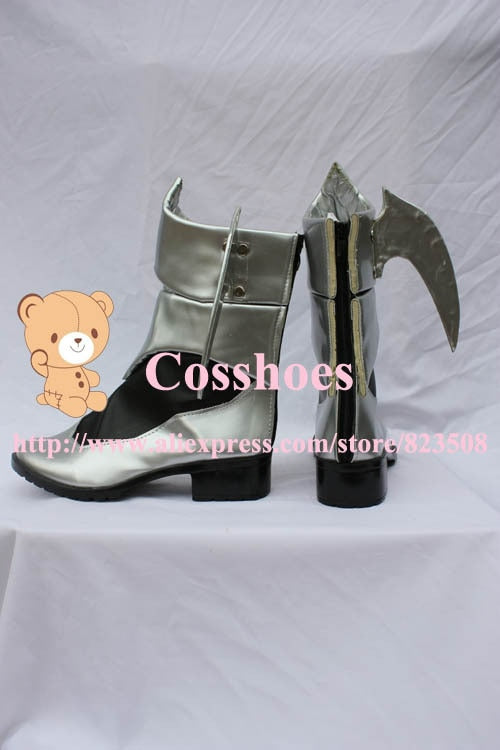 Costum made Aqua Shoes from Kingdom Hearts Cosplay