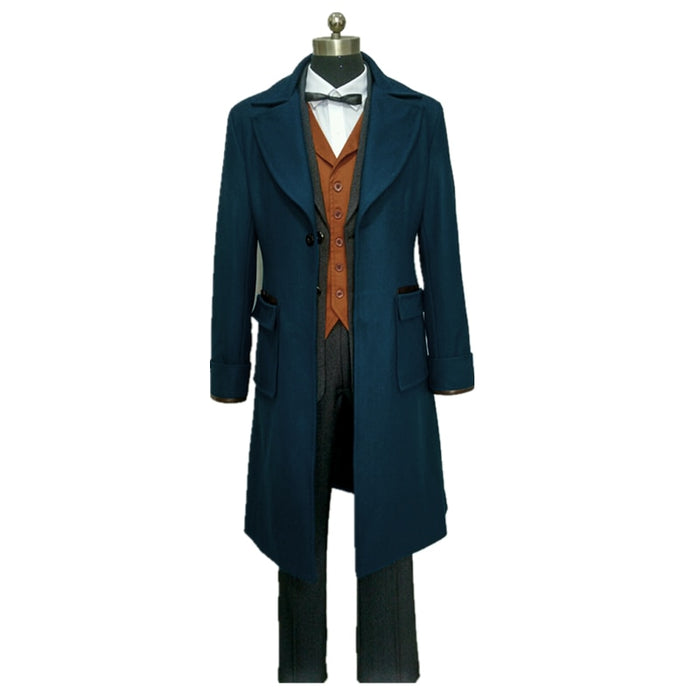 Fantastic Beasts and Where to Find Them Newt Scamande Cosplay Costume Full Set Custom Made