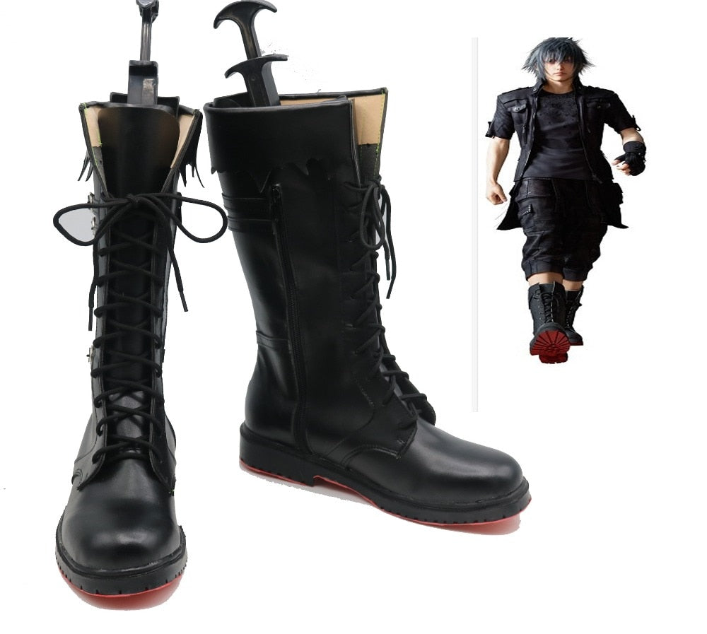 Noctis Lucis Caelum King Final Fantasy XV Final Fantasy Versus XIII Cosplay Shoes