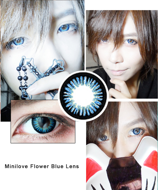 Minilove Flower Blue Lens