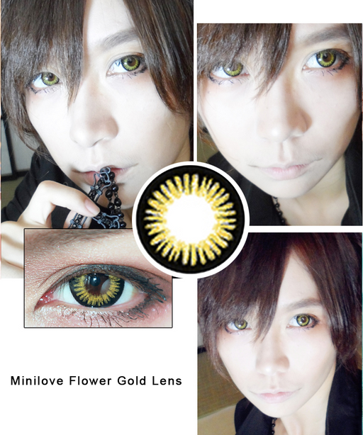 Minilove Flower Gold Lens