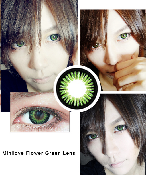 Minilove Flower Green Lens