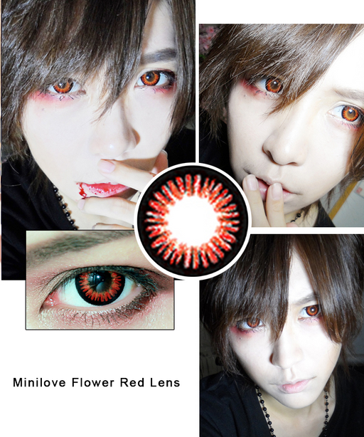 Minilove Flower Red Lens