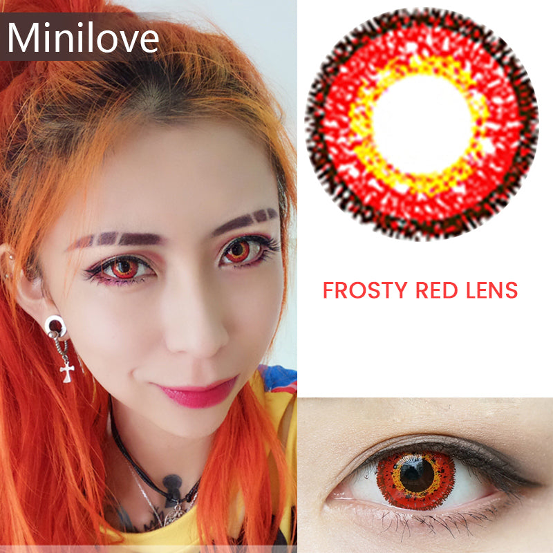 Minilove Frosty Red Lens