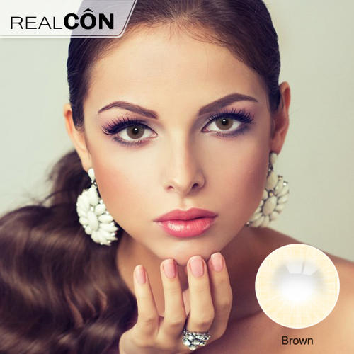 Realcon HD Aurora Brown Lens