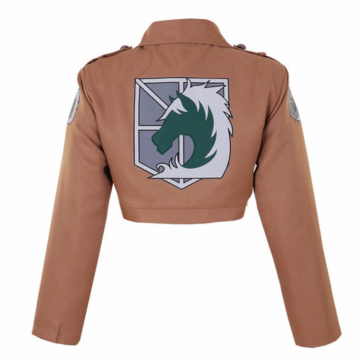 Shingeki no Kyojin Military Police  Eren Jaeger Attack on Titan Halloween Cosplay Costume Game Anime Japanese