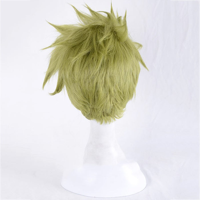 Fate/Apocrypha Achilles Short Wig Green FGO