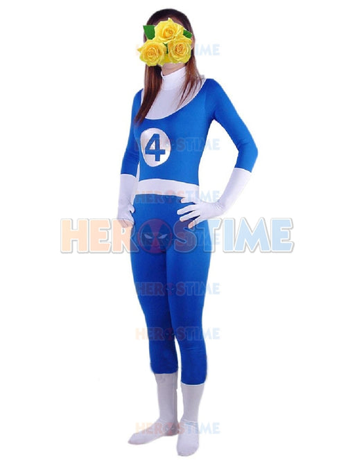 Fantastic Four  Halloween cosplay Costume Comics Spandex Zentai Suit