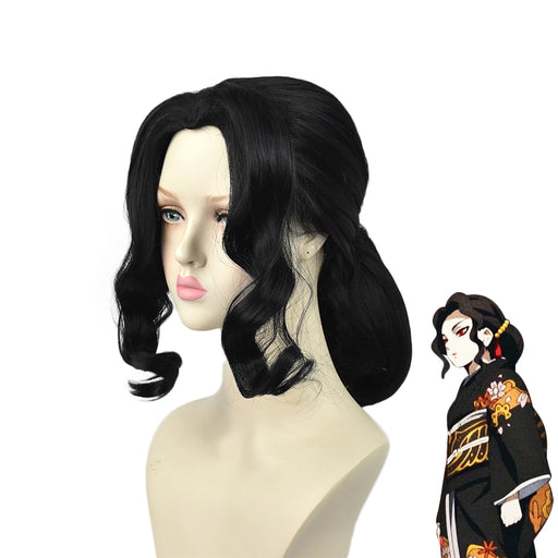 Kibutsuji Muzan Demon Slayer Kimetsu no Yaiba Women Cosplay Hair Wigs