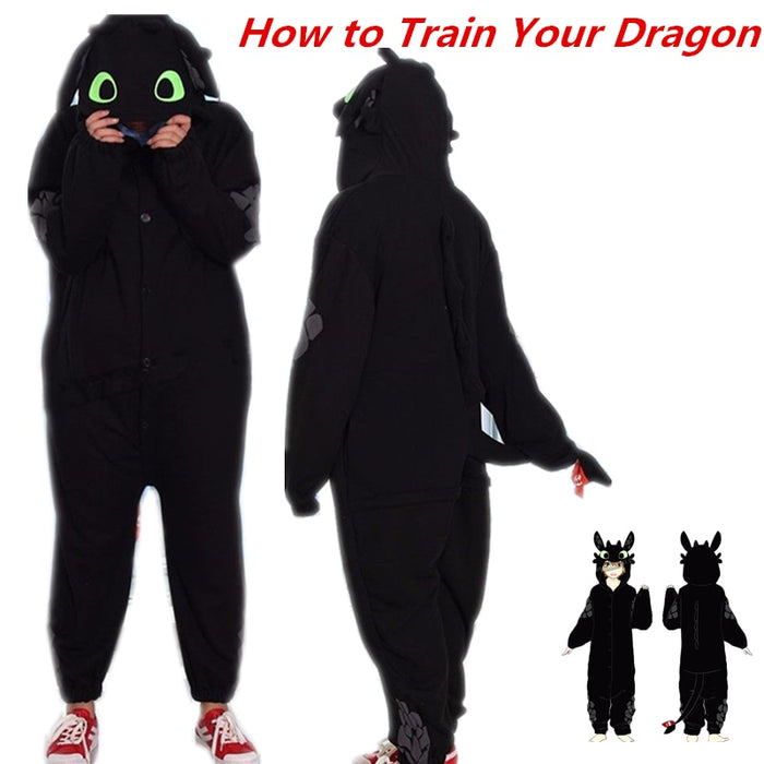 How to Train Your Dragon Toothless Pajamas