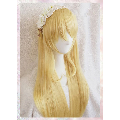 Eli Ayase Love Live Long Wig Golden Girls Womens Hair+Wig Cap