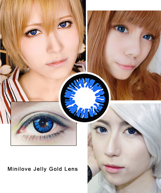 Minilove Jelly Blue Lens