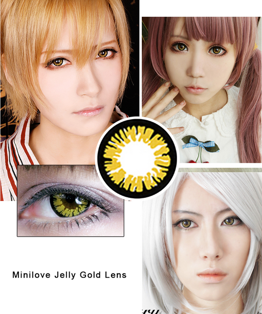 Minilove Jelly Gold Lens