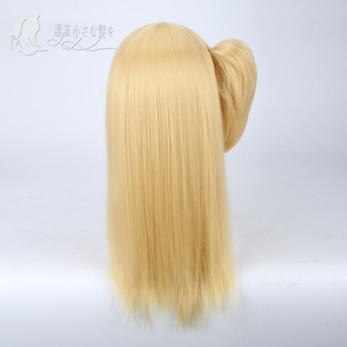 Lucy Heartfilia Cosplay Medium Straight Wig Fairy Tail Blonde