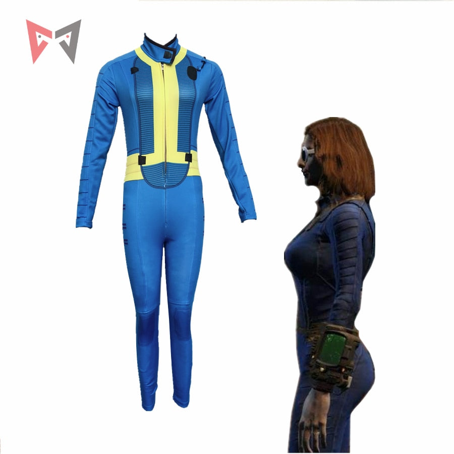 MMGG Halloween Game Fallout 4 Cosplay Costumes Nora Jumpsuits custom made size